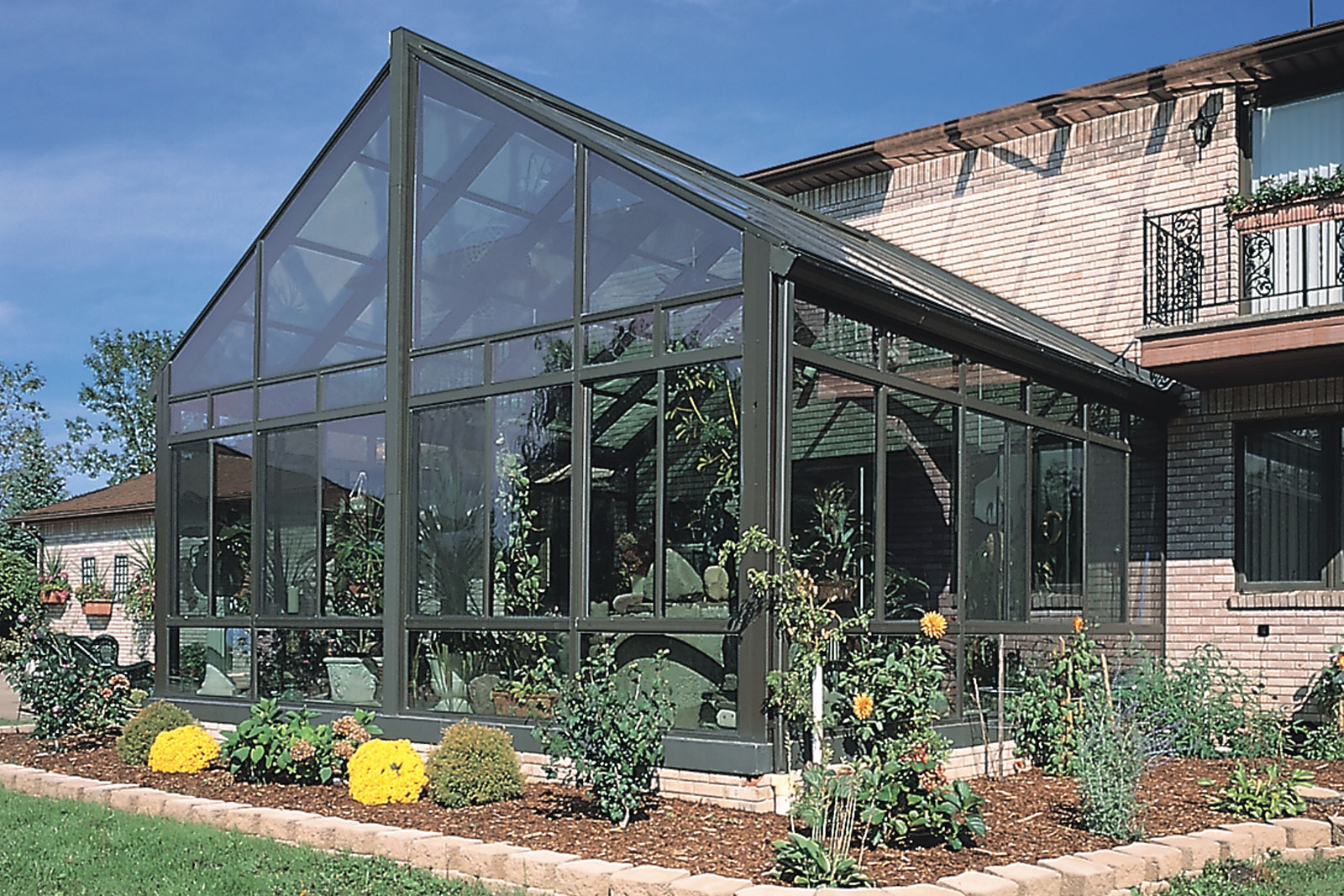 Aluminum Glass Cathedral Roof Sunroom By Sunboss Room