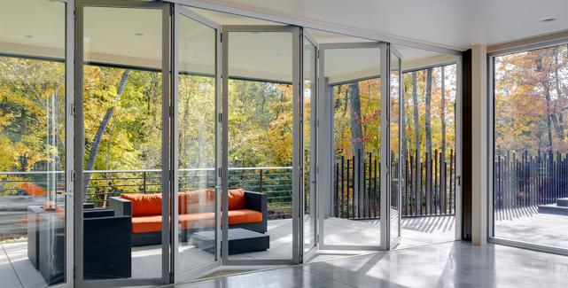 Folding Doors By Sunboss Room Additions And Sunrooms