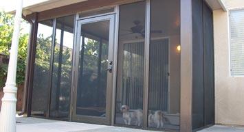 Pet Safe Screen Rooms