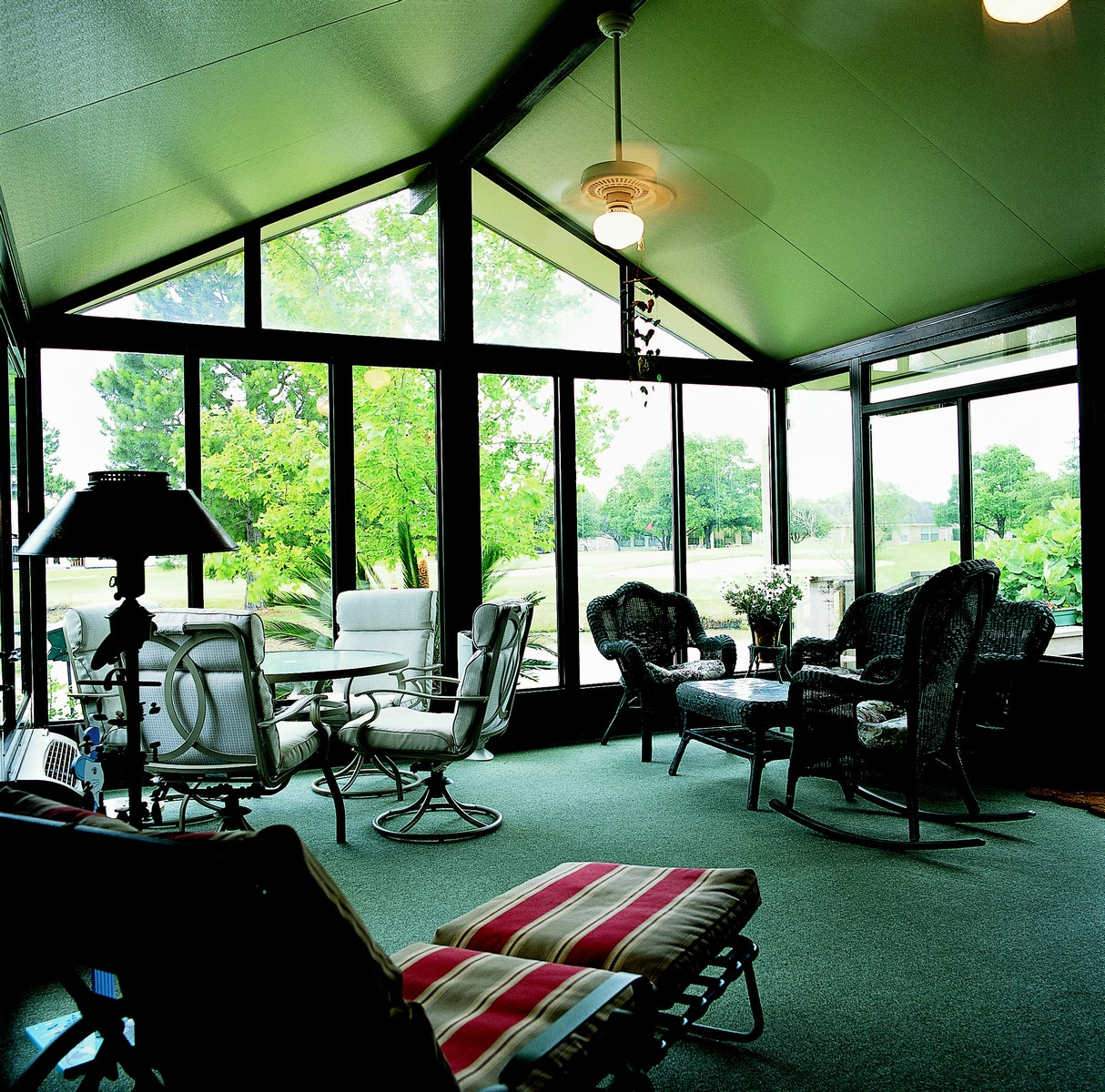 Aluminum Solid Cathedral Roof Sunroom By Sunboss Room