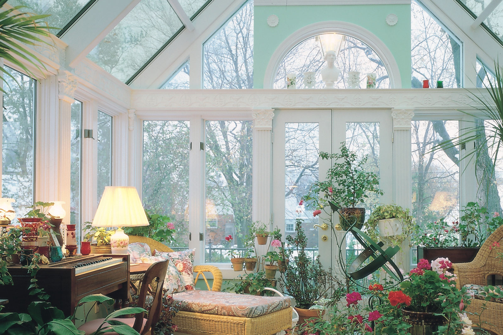 Wood Interior Cathedral Roof Sunroom By Sunboss Room