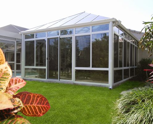 Georgian Conservatory with Aluminum Frame
