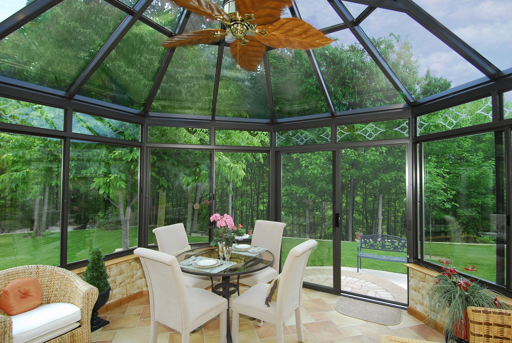 Victorian Conservatory With Aluminum Frame