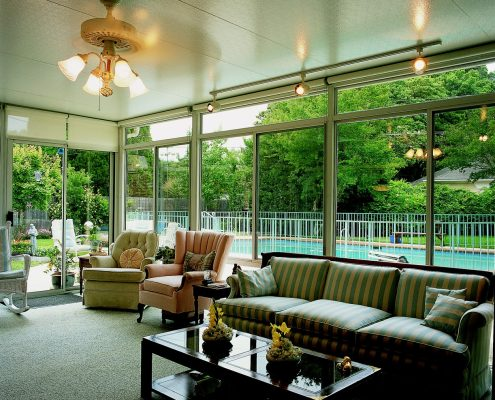 Straight Eave Sunrooms and Solariums