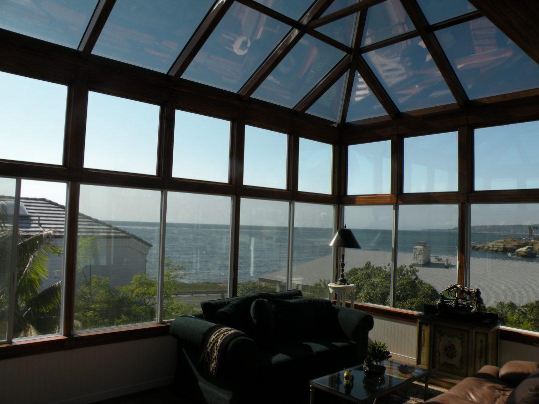 Second Story Sunroom Installation