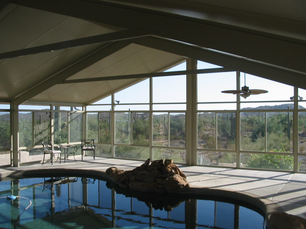 Sun And Shade Pool Enclosure Palm Desert