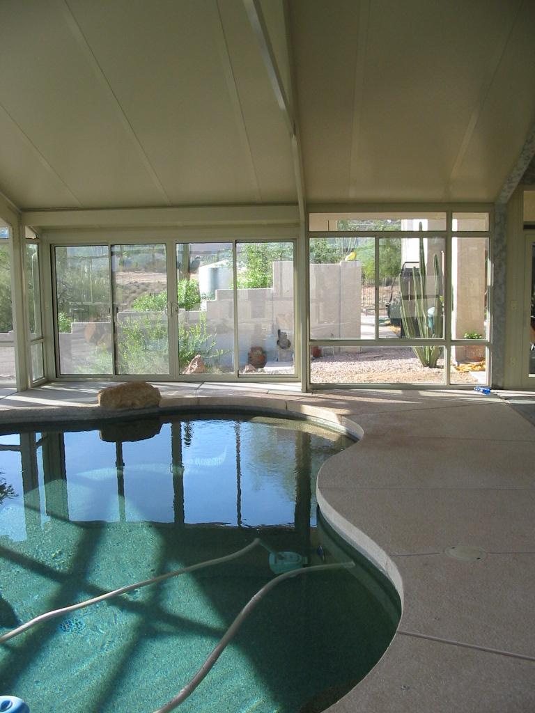 Sun And Shade Pool Enclosure Palm Desert