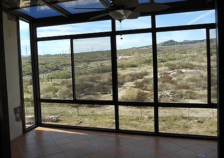 Banning, CA Second Story Sunroom Installation