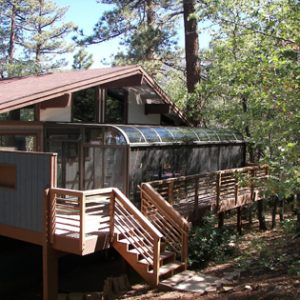 Big Bear Curved Eave Sunroom Installation