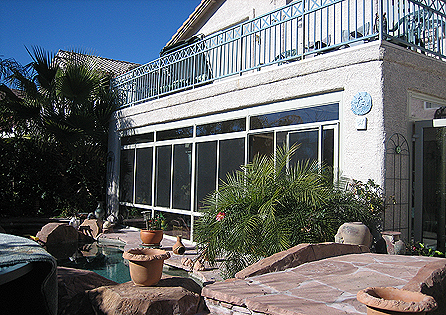 Coachella Valley Sunroom Installation