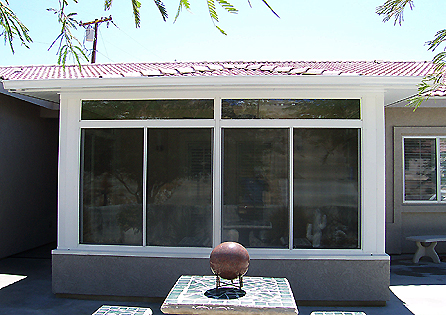 Desert Hot Springs Straight Eave Aluminum Sunroom