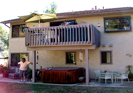 Second Story Deck and Railing Installation - Escondido, CA