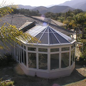 Fallbrook Cathedral Sunroom Installation