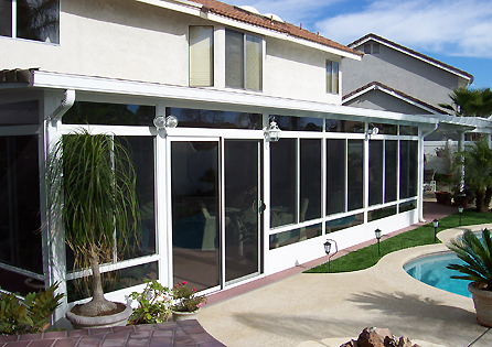 Turning A Patio Into A Sunroom In Moreno Valley Ca