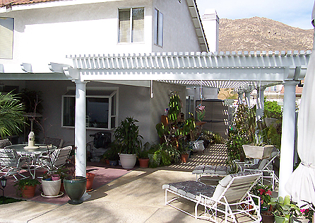 Moreno Valley Patio Cover and Sunroom Install