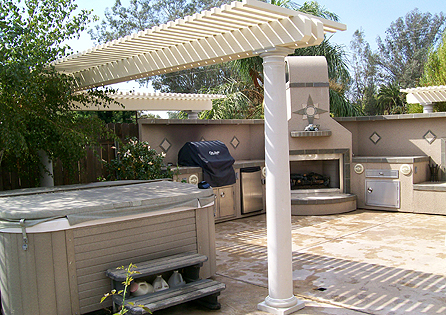 Redlands, CA Patio Cover Installation