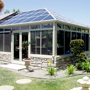 Santee Conservatory Sunroom Installation
