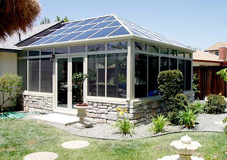 Santee Conservatory Sunroom Installation
