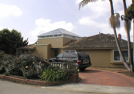 Solano Beach Cathedral Sunroom Installation