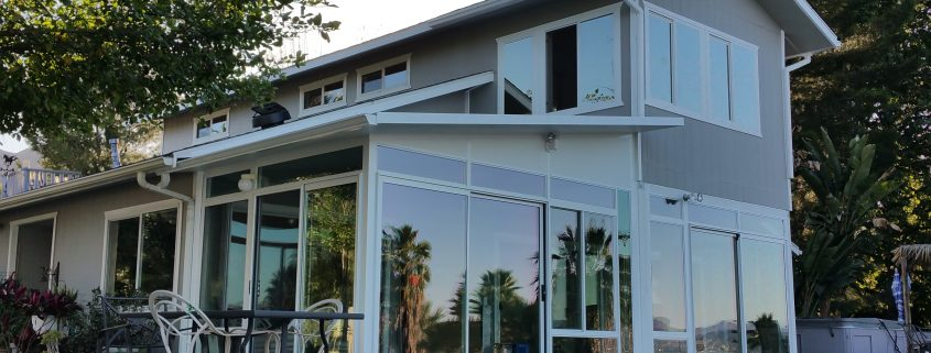 Adding a Second Story Sunroom in Lake Elsinore , CA