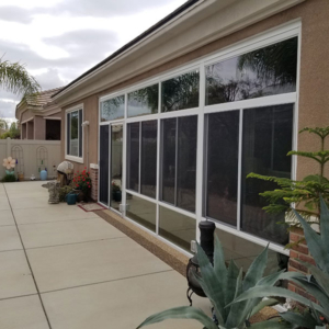 230 Wall System Sunroom Installation in Hemet, CA