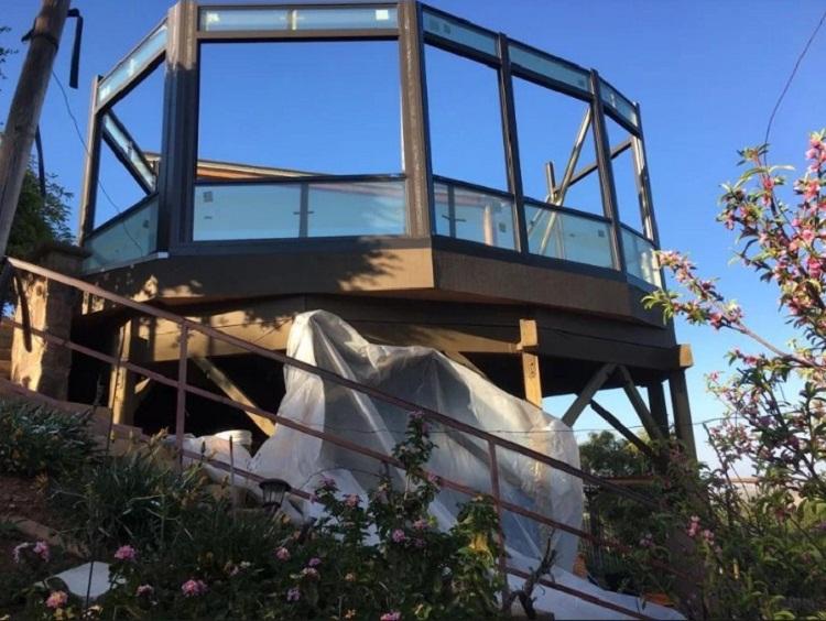 Glass Wall SunRoom Corona, CA