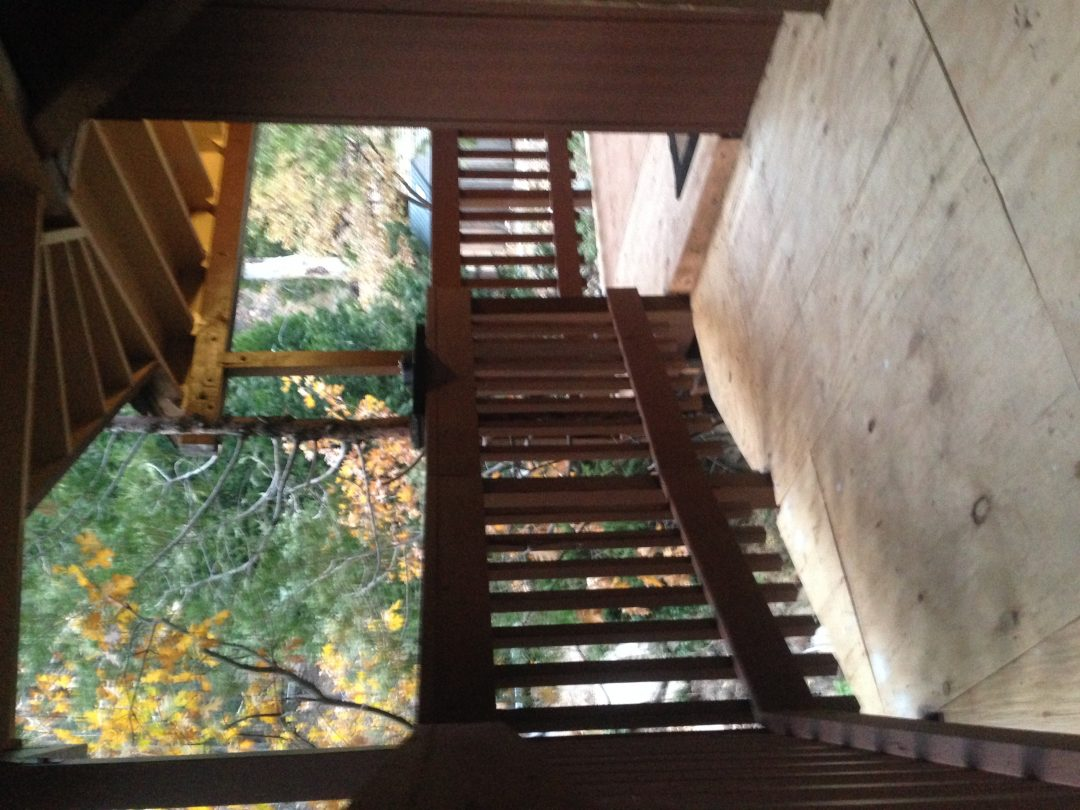 Installation of Deck and Patio cover in Lake Arrowhead