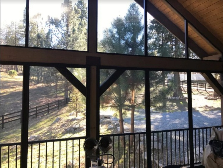 Screened Porch and Open Insulated Snow Load Patio Cover Crestline, CA