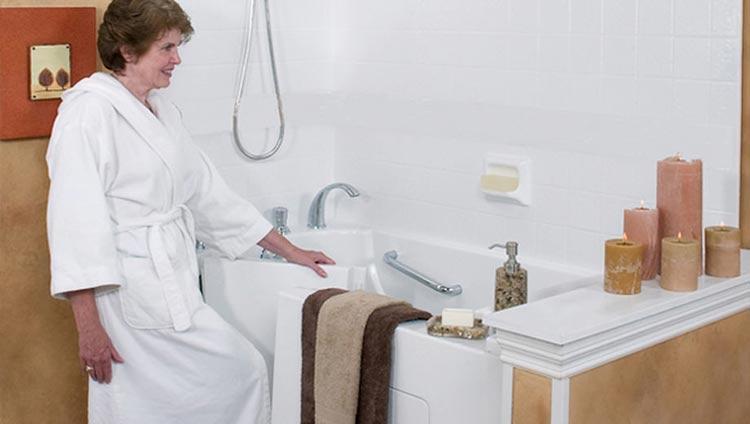 Luxury Baths Walkin Tubs and Installation