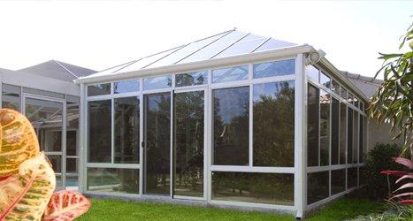 Aluminum Sunrooms, Solariums and Patio Rooms