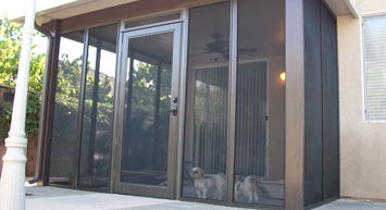 Pet Safe Screen Rooms