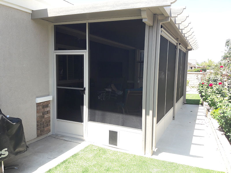 Screen Enclosure Hemet CA