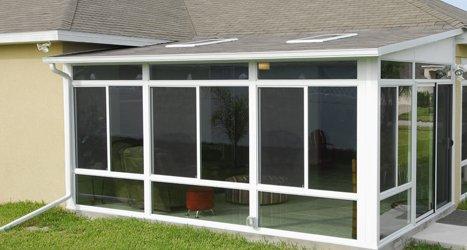 Vinyl Sunrooms, Solariums and Patio Rooms